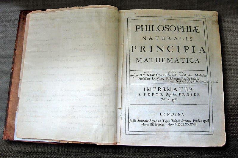 Biografi Sir Isaac Newton