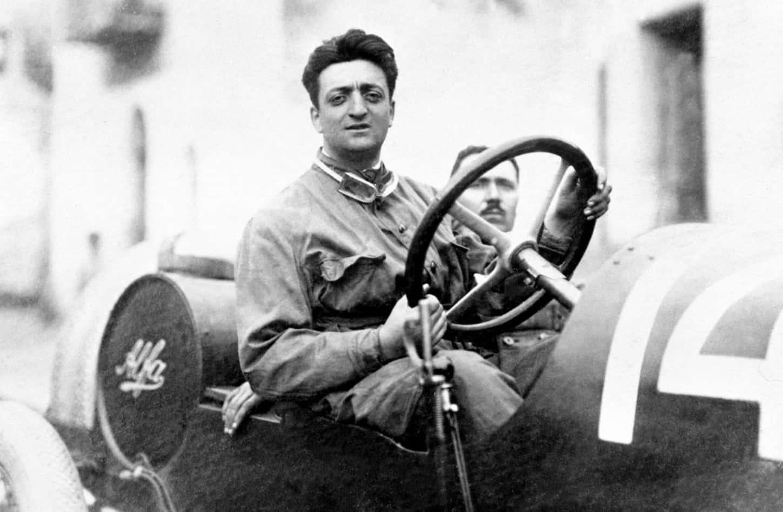 Biografi Enzo Ferrari