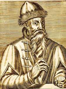 Biografi Johann Gutenberg