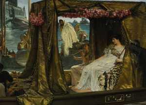 Lukisan Pertemuan Anthony dan Cleopatra