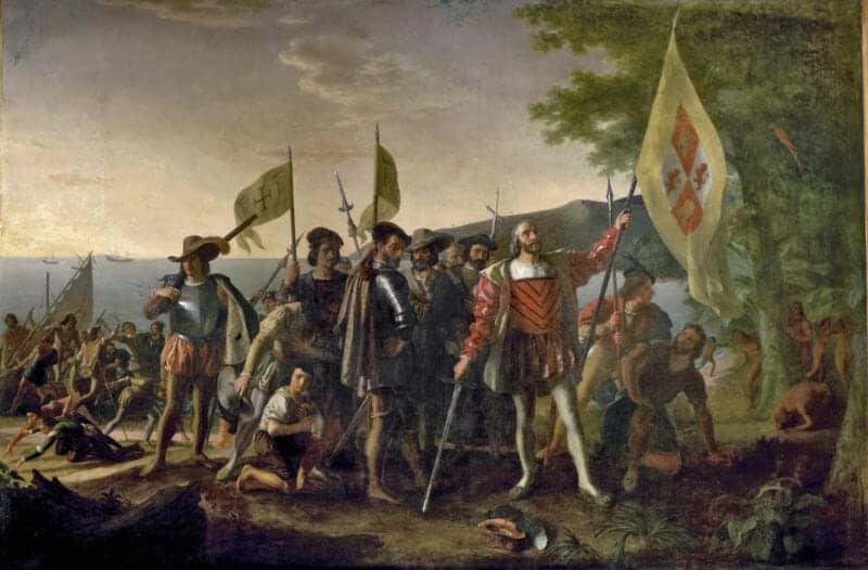 Pendaratan Columbus di Amerika