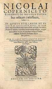 Manuskrip de revolutionibus orbium coelestium