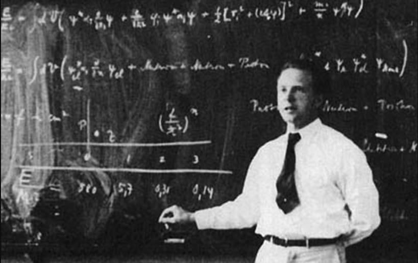 Biografi Werner Heisenberg