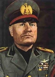 Biografi Benito Mussolini