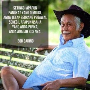 Biografi Bob Sadino