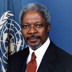 Biografu Kofi Anan - Mantan Sekjen PBB