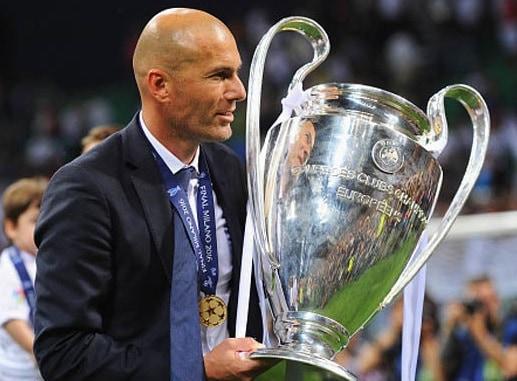 Biografi Zinedine Zidane - Pelatih Terbaik Sepakbola