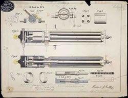HistorypatentSMgatling gun patent