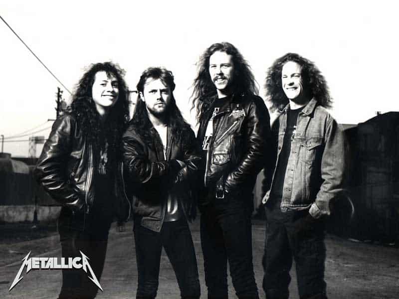 metallica, grup band, biografi