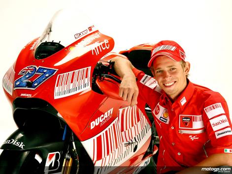 Casey Stoner, Pembalap, MotoGP, Biografi