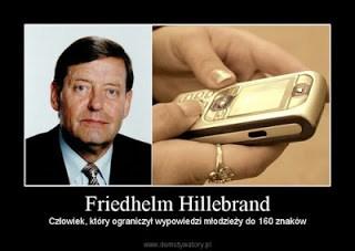 penemu SMS, Friedhelm Hillebrand