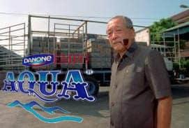 Biografi Tirto Utomo - Pendiri Aqua