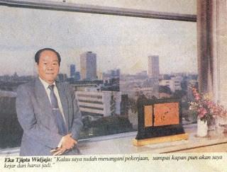 Biografi Eka Tjipta Widjaja, Pemilik Sinar Mas Group
