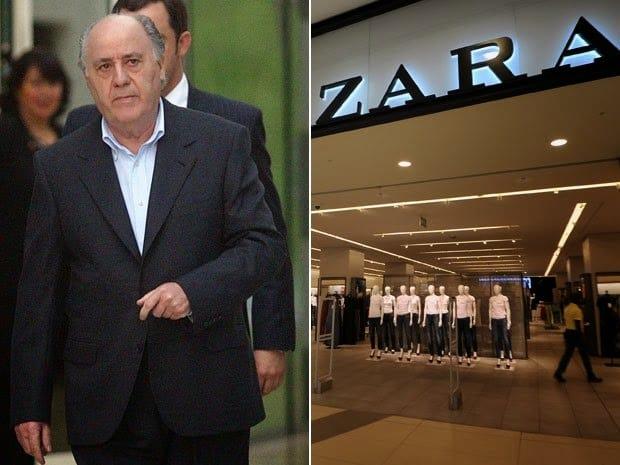 Biografi Amancio Ortega - Pemilik Zara Fashion