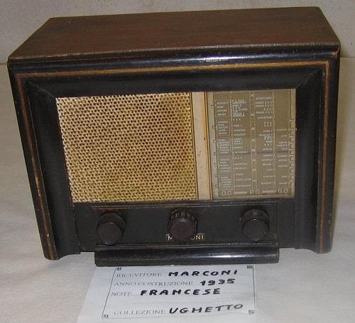Radio Receiver Guglielmo Marconi