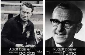 Persaingan pendiri Adidas dan Pendiri Puma