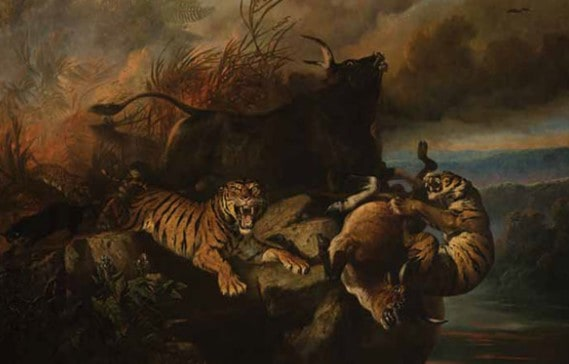 Lukisan Karya Raden Saleh