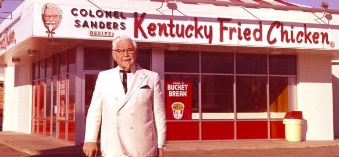 Harland Sanders Pendiri KFC